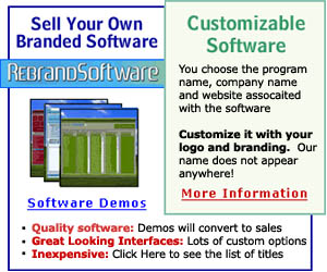 RebrandSoftware.com - Custom Branded Software