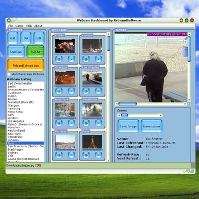 Click to view Webcam Dashboard screenshots