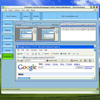 Click to view Computer Monitor screenshots