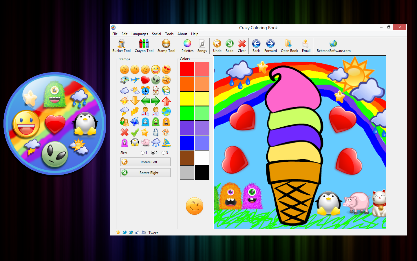 Coloring book software - This Software Was Inspired By And Created For My Three Year Old Daughter Eloise